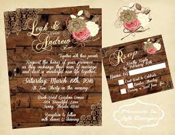 country chic wedding invitations idea wedding invitations for outdoor wedding for rustic vintage