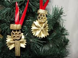 christmas crafts for kids making christmas tree ornaments with pasta