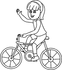 coloring pages kids road bike page bicycle best of page itgod me
