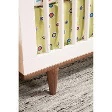 Buy Buy Baby Convertible Crib by Baby Mod Marley 3 In 1 Convertible Crib White And Walnut Walmart Com