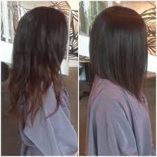 slightly angled long bob angled long bob glamour women hairstyle
