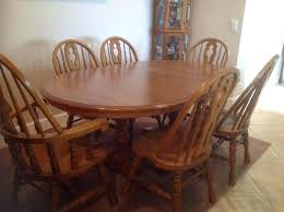 Oak Dining Room Table And 6 Chairs Oak Dining Room Chairs Fifty2 Co
