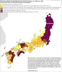 Map Of The Northeast Is Japan A Religiously Divided Country Fabian Drixler On Japan U0027s