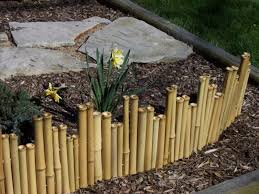 Flowers For Backyard by Exterior Interesting Bamboo Fencing For Home Exterior Design