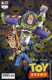 toy story 2009 2nd series boom studios comic books