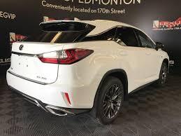 lexus rx edmonton new 2017 lexus rx 350 4 door sport utility in edmonton ab l13859