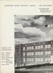 paul harding high school yearbook harding high school saga yearbook st paul mn class of 1955