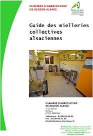 chambre agriculture alsace guide des mielleries collectives alsaciennes pdf