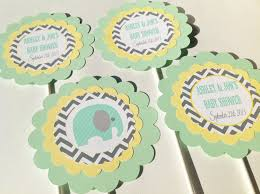seafoam green yellow and grey baby shower google search