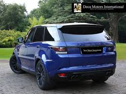 used 2016 land rover range rover sport svr vat q high spec for