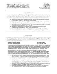 Executive Summary Example For Resume by Download Executive Resume Haadyaooverbayresort Com