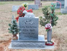 rose and her lily remembering your baby at christmas