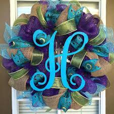 patterned ribbon purple burlap ribbon this wreath is made with purple mesh burlap