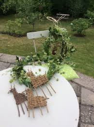 cotswolds rural skills willow christmas crafts