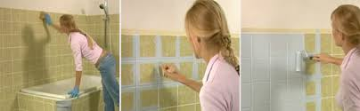 Paint Over Bathroom Tile Cheap Revamp Painting Over Tiles