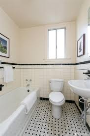 black and white tile floor bathroom home furniture and design ideas
