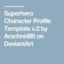 25 melhores ideias de character profile template no pinterest