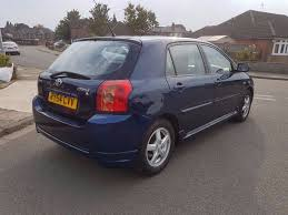 1 owner 2004 toyota corolla 1 4l a c 5 doors manual not yaris