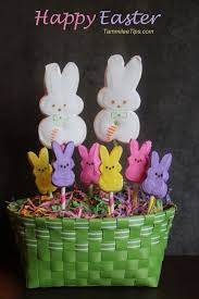 peeps decorations and easy peeps easter centerpiece easter