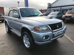 mitsubishi pajero 2004 used mitsubishi shogun sport cars for sale motors co uk