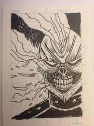ghost rider by cliff rathburn cómics pinterest comic marvel