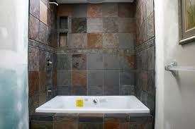 Shower And Tub Combo For Small Bathrooms - knapp tile and flooring inc shower tub surround combo bathroom
