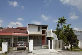 Modern Home Design Malaysia Malaysian Single Storey Terrace Renovated Modern Facade Dream