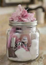 gifts in a jar easy diy gifts diy christmas and manicure