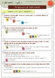 Mãªme In English - calcul mental des jeux defis avec 4 fois le mãªme classeurdecole