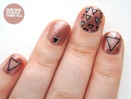 one nail to rule them all copper triangles
