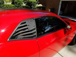 Us Flag Decal Distressed American Flag Window Decal Srt Hellcat Forum