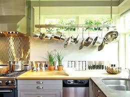 kitchen island hanging pot racks pot racks kitchen storage organization the home depot kitchen pan