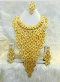 big gold fashion necklace images Necklace big 2 gram necklace wholesaler from mumbai jpg