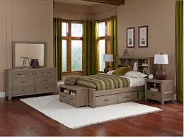 kenwood bookcase bed in driftwood kids furniture in los angeles