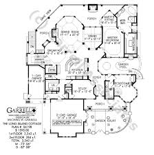 ranch style house floor plans island cottage house plan active house plans