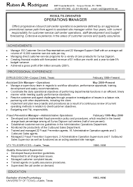 Loss Prevention Resume Sample Maintenance Manager Resume Sample All Trades Resume Writing