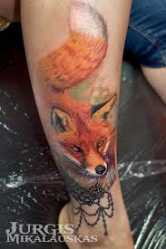 fluffy fox on calf best design ideas