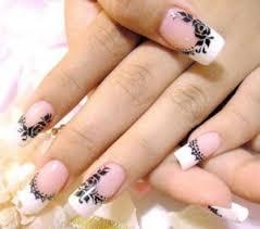 imagenes uñas para decorar dos técnicas para decorar uñas de porcelana