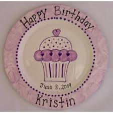 personalized birthday plate personalized birthday plates