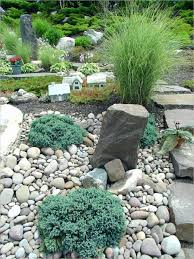Rock For Garden Garden Ideas River Rock Landscaping Rocks For Flower Beds