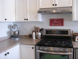 Decor  Tips Affordable Beadboard Backsplash For Kitchen Remodel - Bead board backsplash