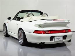 911 porsche 1995 for sale tuner tuesday 1995 porsche 911 turbo cabriolet gemballa german