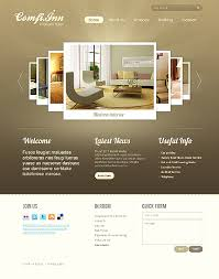 website homepage design hotel html5 website design with homepage image carousel gallery