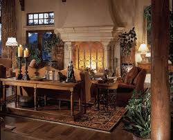 Best Mediterranean Design Images On Pinterest Haciendas - Tuscan style family room