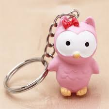 baby keychain owl baby shower keychain favor baby shower favors baby shower