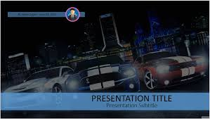 powerpoint themes free cars free muscle cars powerpoint 41508 sagefox powerpoint templates