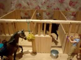 Woodworking Plans Toy Horse Stable by Popsicle Stick Breyer Barn Craft Ideas Pinterest Barn Horse