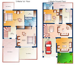 design together with 10 marla house plan on 3 marla house map design