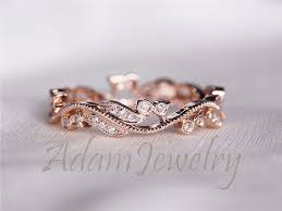 Rose Gold Wedding Rings by Gold Wedding Bands Picmia