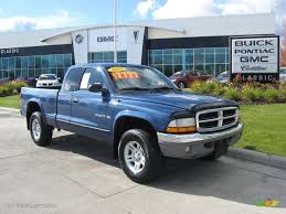 dodge dakota slt 2002 atlantic blue pearl dodge dakota slt cab 4x4 19541687